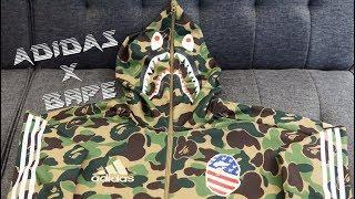 Adidas Football x BAPE SB Shark Hoodie