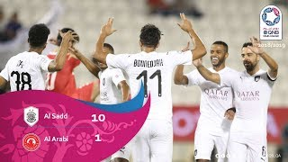 Al Sadd 10-1 Al Arabi - Week 2