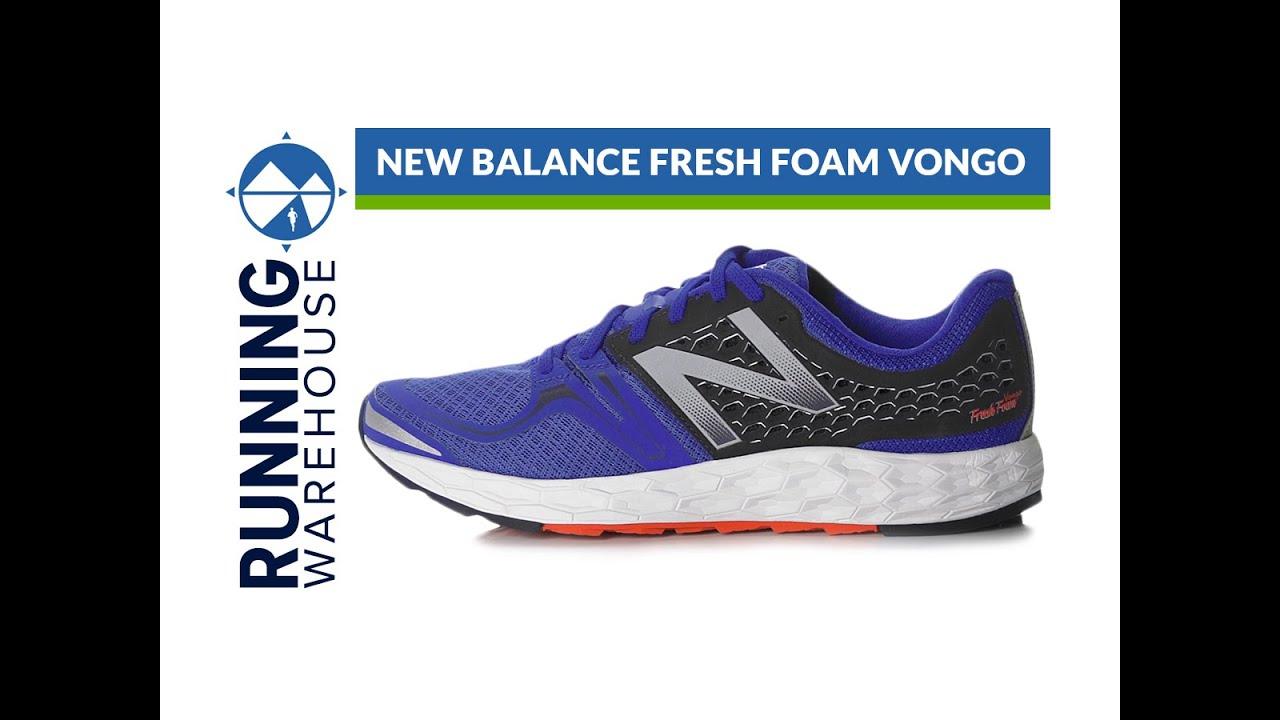 new balance fresh foam vongo
