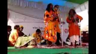 "Baul der sathe Surojit Chatterjee (Sobuj Potro, Santiniketan_""Baul Utsav"") 2013"