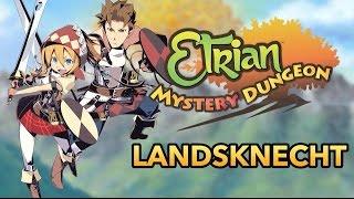 Etrian Mystery Dungeon - Landsknecht Trailer