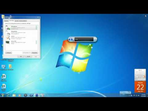 Official Speech Recognition Tutorial (Windows 7)