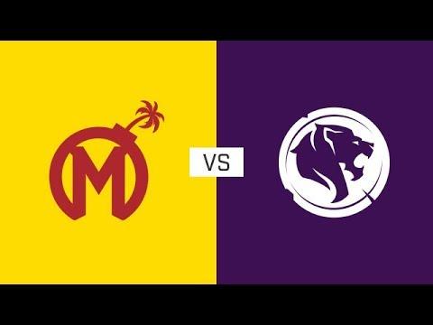 Full Match Florida Mayhem Vs Los Angeles Gladiators Stage 1 Week 4 Day 1 Youtube
