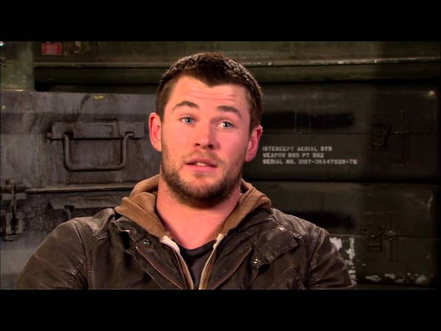 Chris Hemsworth's Official 'Red Dawn' Soundbites - Celebs.com Travel Video