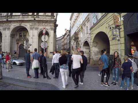 Walking Old Town Prague