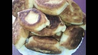 Самые вкусные домашние жареные пирожки с картошкой)))