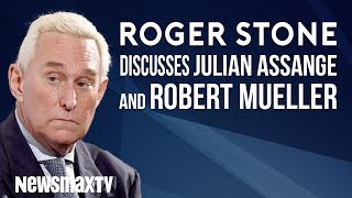 Roger Stone discusses Julian Assange and the Mueller probe.