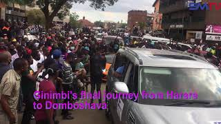 Ginimbi's final journey from Harare to Domboshava to his final resting place