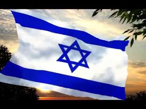 Israel anthem הַתִּקְוָה  Hatikvah synchronized music by Larysa Smirnoff