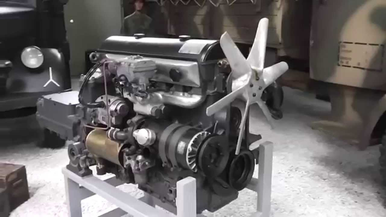 maybach motor hl 54 von 1942 - youtube