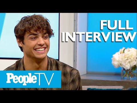 Noah Centineo On Texting Lana Condor Kissing Scenes His Insecurities & More   PeopleTV