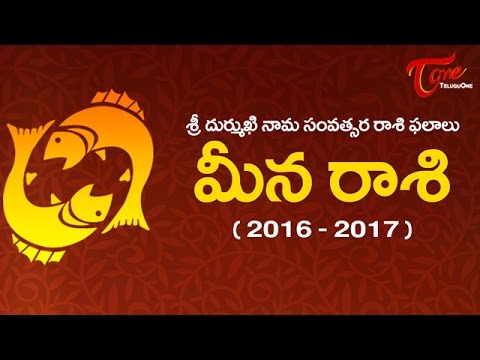 Meena Rasi | Pisces Yearly Future Predictions 2016-2017 | Rasi Phalalu ...