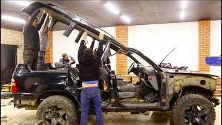 Превращаем убитую Toyota LC 100 в нового зверя.