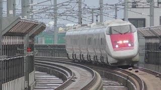2019年1月8日 北陸新幹線 新高岡駅 かがやき号とイーストアイの通過