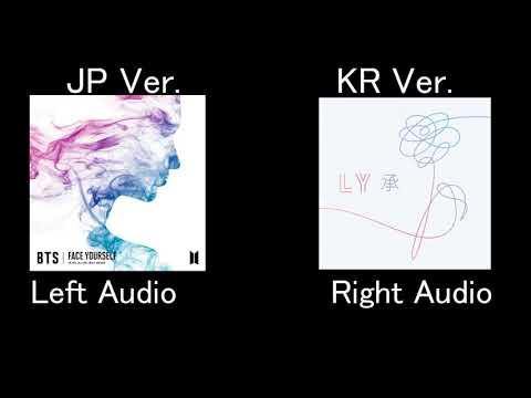 BTS(防弾少年団)  'Best of me' JPver. KRver. comparison