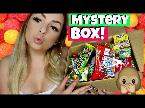 Japanese Candy MYSTERY BOX OPENING!