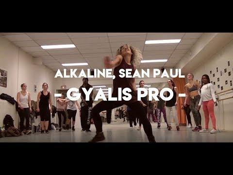 GYALIS PRO - Sean Paul & Alkaline (Workshop 100% DANCEHALL) (Afro-Jam European Worskshop Tour #2)