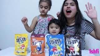 Funny Toddler & Mummy Learn Colors with M&M Candy