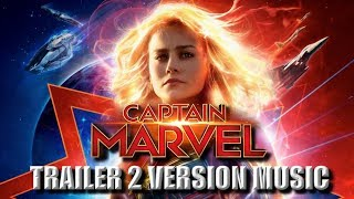 CAPTAIN MARVEL Trailer 2 Music Version | Proper Movie Trailer Theme Song