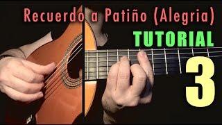 Free Stroke Exercise - 20 Recuerdo a Patiño (Alegria) by Paco de Lucia