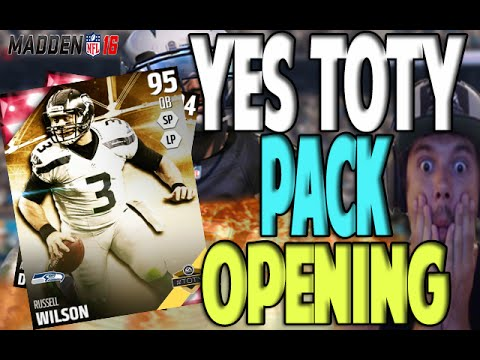 YES TOTY IS HERE!! NOBODY MOVE PACK OPENING | MADDEN 16 ULTIMATE TEAM PACK OPENING