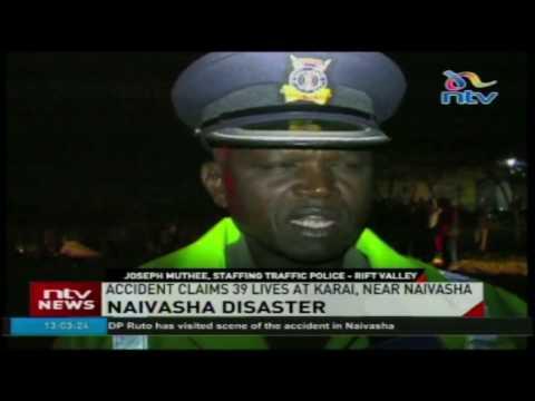 Accident claims 39 lives near Karai, Naivasha
