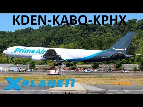 X-Plane 11 | Haulin' Cargo!! | B767 B737 | PilotEdge | Denver, Albuquerque & Phoenix!!