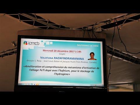 ENSEIGNEMENT SUPERIEUR : DOUBLE GRADE DE DOCTORAT POUR VOLATIANA RAZAFINDRAMANANA