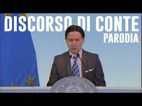 IL DISCORSO DI CONTE (PARODIA) | Le Coliche