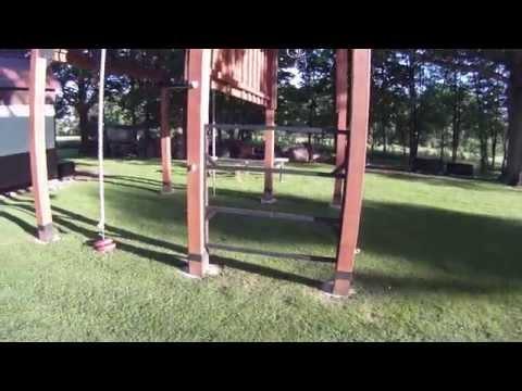 Closer look at my outdoor/backyard gym