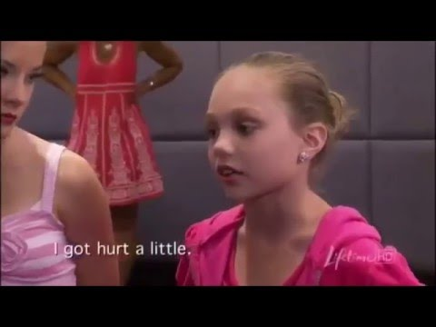 Dance Moms | Maddie Upset About The Group Dance