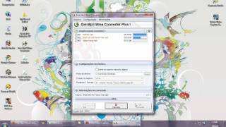 Video aula - Como usar o free mp3 wma converter,
