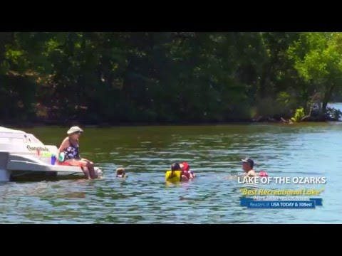 Lake of the Ozarks - Voted Best Recreational Lake in the Nation