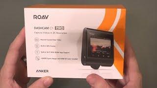 Roav by Anker Dash Cam C1 Pro 2K Resolution (1080p 60fps)