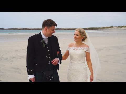 Hebridean Wedding Story - Seonaid and Gary