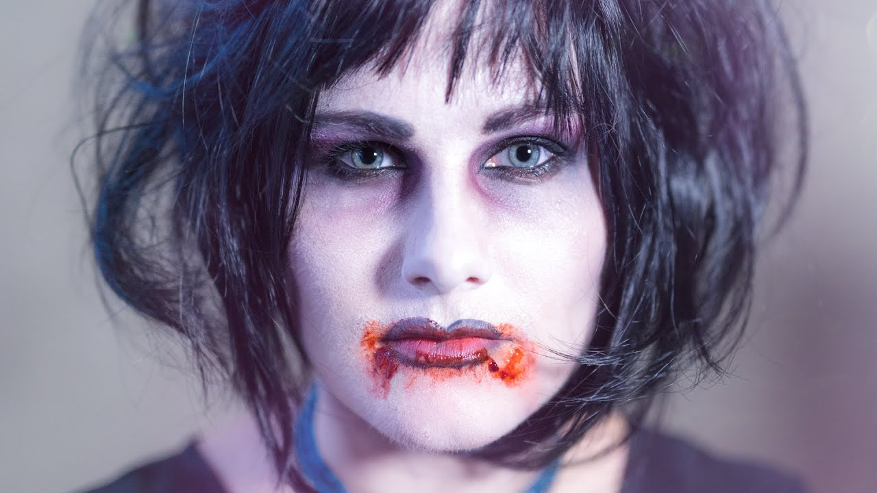 vampir schminken easy halloween makeup youtube. Black Bedroom Furniture Sets. Home Design Ideas