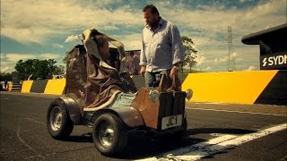 World's Smallest Car Vs Jet | Top Gear Festival Sydney