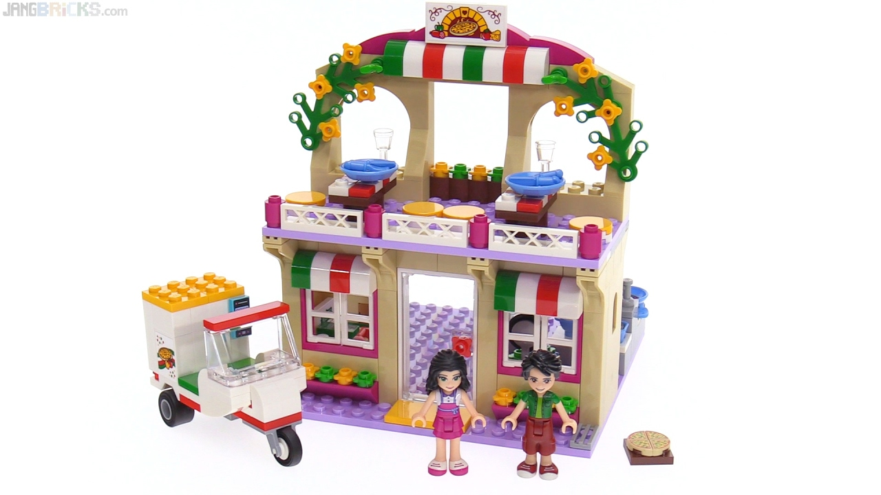 Lego Friends Heartlake Pizzeria Review 41311 Youtube