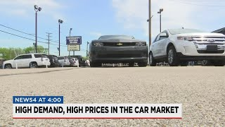 Used car prices on the rise