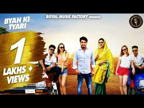 Byah Ki Tyari (Full Song) | Tinku Salarpuriya, Mohini Gupta | Latest Haryanvi Songs Haryanavi 2019