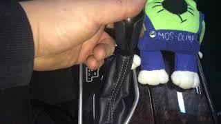 Противоугонное решение для Тойота Камри. Механический блокиратор Фортус (мультилок) коробки передач