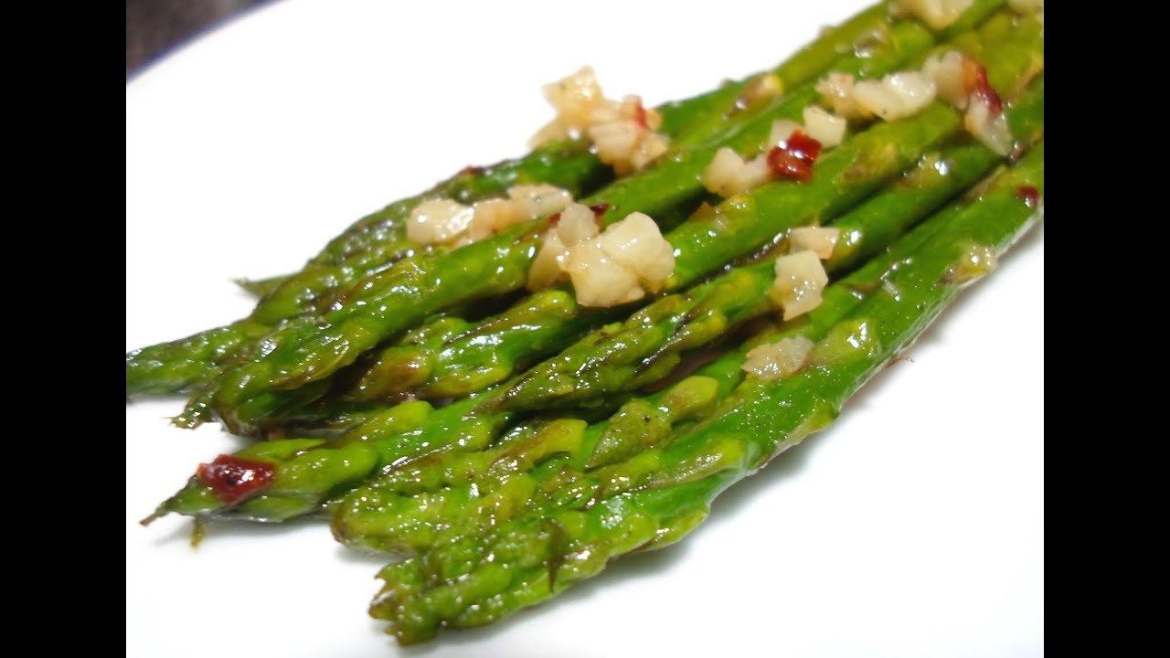 How to make asparagus sauteed asparagus recipe youtube ccuart Gallery