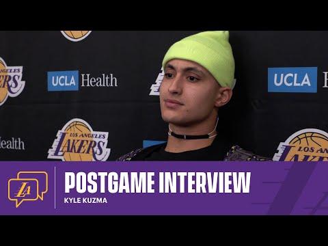 Lakers Postgame: Kyle Kuzma (2/28/21)