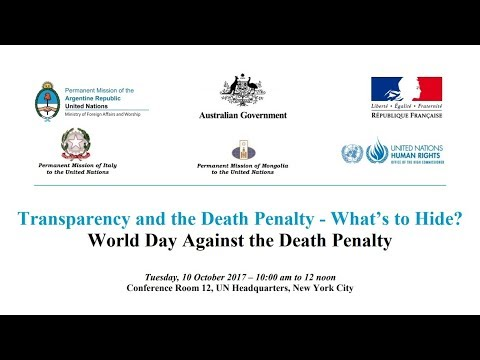 Transparency and the Death Penalty - What's to Hide?