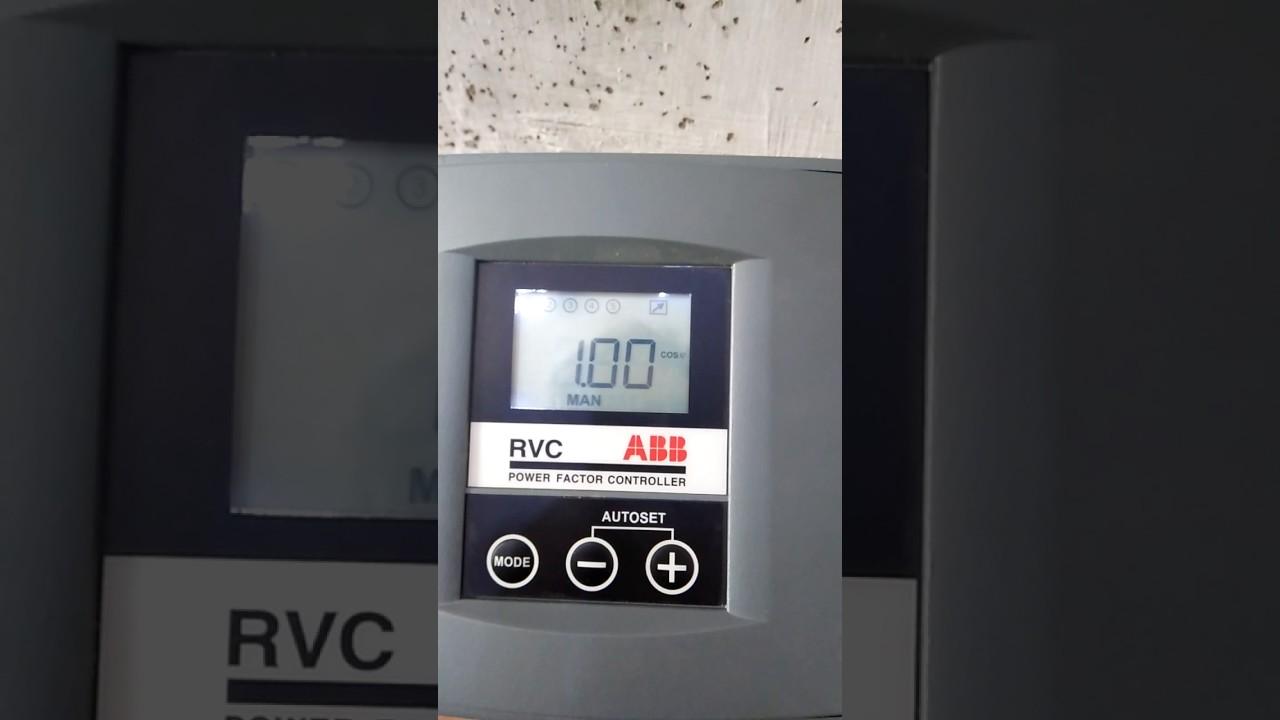 settings power factor regulator abb youtube rh youtube com