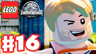 LEGO Jurassic World - Gameplay Walkthrough Part 16 - Welcome to Jurassic World! (PC)