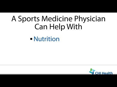 When To See A Sports Medicine Physician