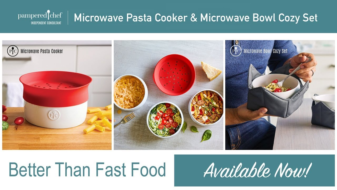 Microwave Pasta Cooker Amp Microwave Bowl Cozy Set