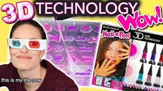 "Adult Reviews Children's ""Nail-a-Peel"" 3D Technology (only appropriate for teenagers and up)"