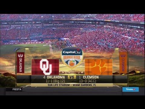 2015 Orange Bowl - OU Vs Clemson